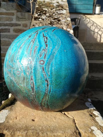 boule turquoise 2